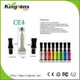 Hot! Kingtons Health and High Quality CE4 Electronic Cigarette, EGO E Cigarette Atomizer