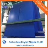 Matt PVC Sheet Blue PVC Embossed PVC Sheet for Printing