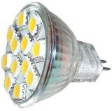 LED MR11 12SMD Spotlights 12VAC/DC