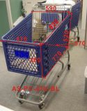 180L Supermarket Plastic Shopping Cart