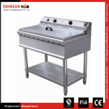 Electric Fryer Double Tank Deep Fat Frying Machine Dzl-76b