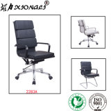 2283A Modern Eames Executive High-Back Genuine Leather Manager Svivel Office Chair