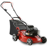 "16"" Hand Push Lawn Mower with Grass Bag"