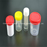 Disposable Medical Stool Urine Collection Cup with Spoon