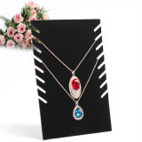 Black White Color Acrylic Jewelry Necklace Display Stand