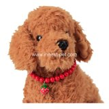 Red Strawberry Puppy Dog Necklace Jewelry, Pet accessory