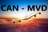 Air Cargo Shipping Transport Services From Guangzhou to Montevideo
