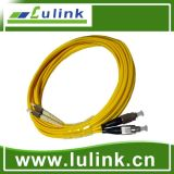 Fiber Optic Patch Cable with Single Model Duplex