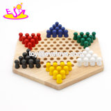 Educational Board Game Wooden Chinese Checkers Game for Kids W11A034