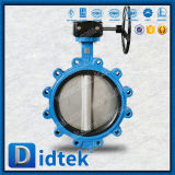 Didtek Low Friction Soft Rubber Seated Butterfly Valve