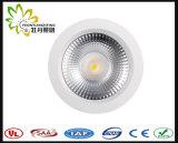 2018 High Power 10W LED COB Down Light, IP44 Lifud Driver LED Downlight