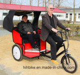 Pedal Sensor Electric Passenger Tricycle 3 Wheel Taxi Bike for Sale