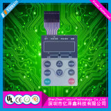 Pet Cooking Machine Button Membrane Panel Switch Dura Touch Panel Switch