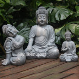 Outdoor Ployresin Sitting Buddha for Garden Decoration