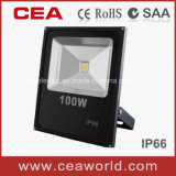 100W Slim LED Floodlight with CE&RoHS Certification