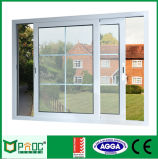 Double Glazing Aluminum Glass Sliding Window with As2047 Certificate