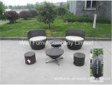 Stacktable Patio Set/Rattan Chair/Wicker End Table/Rattan Garden Furniture