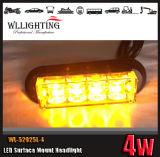 LED Surface Mounting Strobe Warning Light 18 Flash Patterns