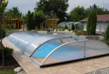 Strong Polycarbonate Swimming Pool Roof