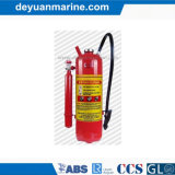 Dry Powder Fire Extinguisher with External Gas Cartridge