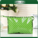 Promotion Gift Green Cosmetic Travel Ladies Bag