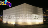 White LED lighting Inflatable Cube Tent for Rent