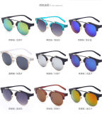 Anti-Ultraviolet Color Round Sunglass for Promotion