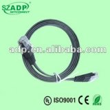 UTP/FTP/SFTP Cat7 Flat LAN Cable Patch Cord with RJ45 OEM Length