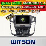 Witson Android 5.1 Car DVD GPS for Ford Focus 2012 with Chipset 1080P 16g ROM WiFi 3G Internet DVR Support (A5712)