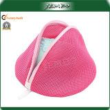 Pink Mesh Washing Laundry Bag