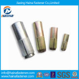Carbon Steel Zinc Plated Drop in Anchor Bolt with Knurling