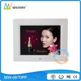 Super Slim 8 Inch Digital Photo Frame with Rechargeable Battery