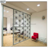 5mm, 7mm Beautiful Patterned Laminated Glass Office Partitions