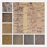 New Design for Top Brand Woodgrain PU Leather (HSTC051)