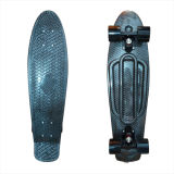 27inch PP Mini Skateboard Cruiser Complete Skateboards Banana Skateboard Black Magic Design-7