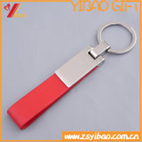 Customized Promotional Cheap Leather Keychain (YB-LK-03)
