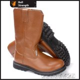 High Cut Genuine Leather Safety Boot with Steel Toe&Midsole (SN5394)