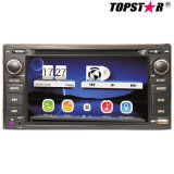 6.5inch Universal Double DIN 2DIN Car DVD Player for Toyota with Android System Ts-2650-1
