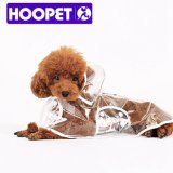 Hoopet Transparent Small Dog Raincoat Special Supplies