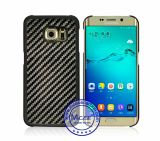 New Promotional Gift 100% Real Carbon Fiber Rubberized PC Plastic Case for Samsung S6 Edge