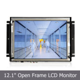 "12.1"" VGA Open Frame Display with Resistive Touchscreen Monitor"