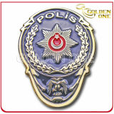 Personalized Custom Color Fill Metal Police Badge