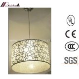 Antique Hotel Decorative Indoor Stainless Steel Round Pendant Light