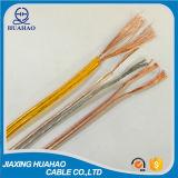High Quality Transparent PVC Jacket Speaker Cable