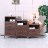 Living Room Furniure Mini Solid Wood Shallow Chest of Drawers
