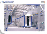 Small Cyclone Recycling Powder Coating Line