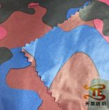 380t Ultra Thin Camouflage Printing Nylon Taffeta Fabric for Down Jacket