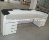 Acrylic Solid Surface Designer Reception Counter for Office Hospital