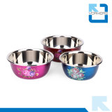SGS Certification Multi-Size Stainless Mixing Bowls Steel Salad Bowls Set