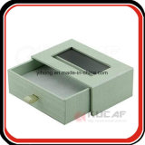 Velvet Tray Specialty Paper Slid Packaging Box with Window